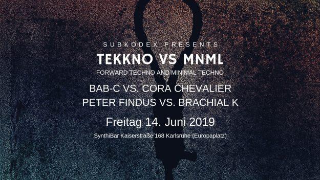 Flyer TEKKNO VS MNML
